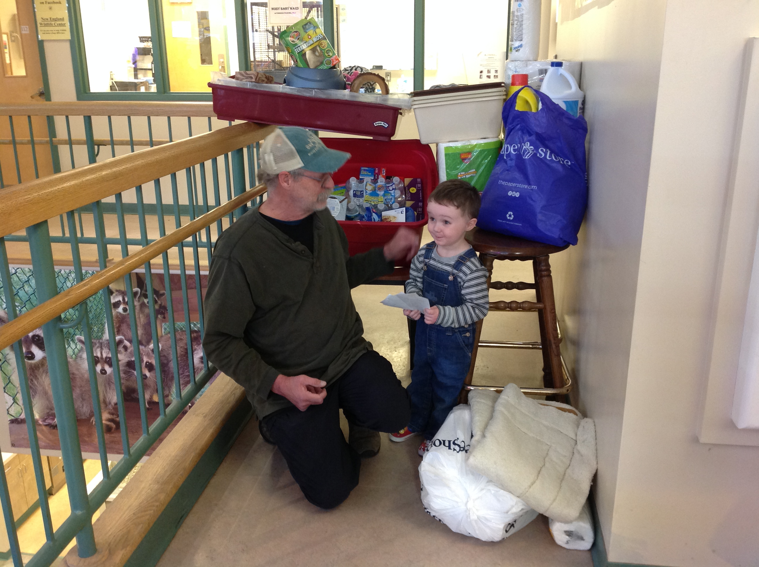New England Wildlife Center Receives Thoughtful Donation from 3-Year Old's Birthday!