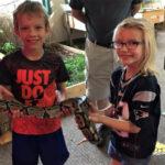 children-meet-snake