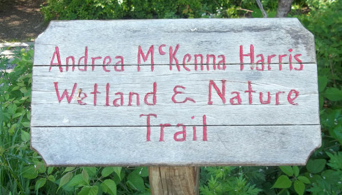 SPECIAL EVENT: The Rededication and Celebration of the Andrea McKenna Harris Nature Trail